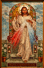 Divine Mercy (*Jeff*) Tags: cathedral mosaic jesus fargo faustina divinemercy