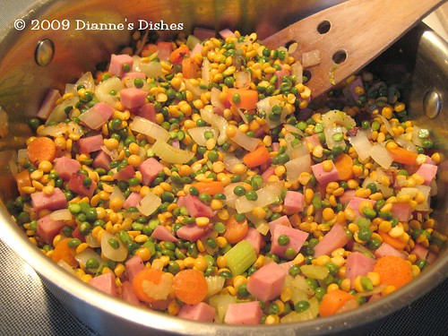 Double Split Pea And Ham Soup: Ready for Broth