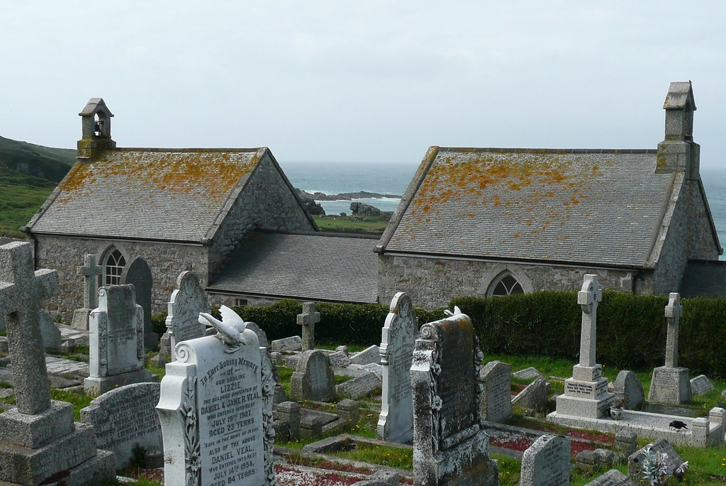 The Cemetary,St.Ives,Cornwall