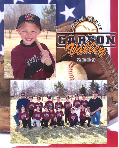 T-Ball Portrait and Team