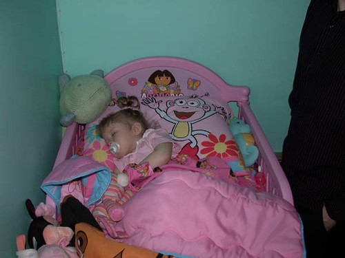 First night in Big Girl Bed