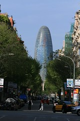 Torre Agbar (cheekster) Tags: barcelona spain torreagbar