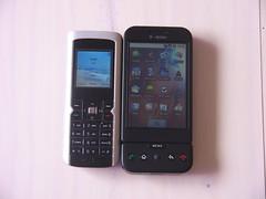 Pirelli DP-L10 e T-Mobile G1