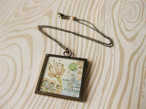 Nurture thy Mind No. 5 Pendant Necklace