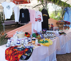 28th Annual Flame Tree Festval Booth