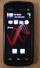 Nokia 5800 XPM (front)