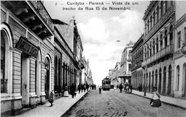 Roteiro por Curitiba