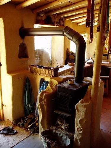 Rustic Cob Kitchen