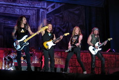 Steve Harris Dave Murray Janick Gers & Adrian Smith