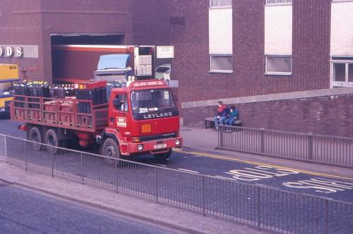 boc gas truck