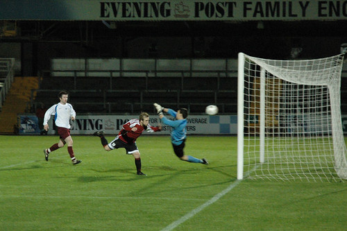 One of UWE's four goals