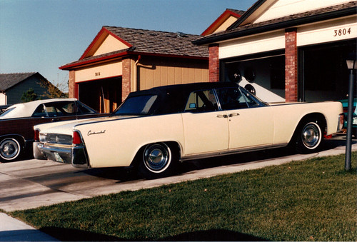 1962+lincoln+continental+convertible+black