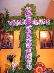 Casa de Ceuta en Melilla, cruz de Mayo
