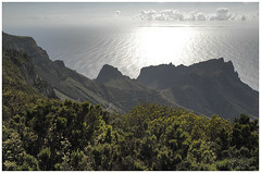 Looking westwards ... (Frank Brauner) Tags: sky seascape clouds landscape rainforest wolken atlantic d200 cedars gomera lagomera regenwald alojera canarianislands arure worldwidelandscapes frankbrauner
