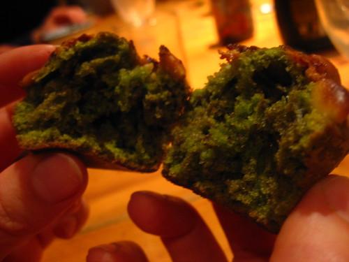 Muffins au thé vert