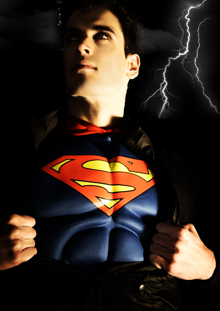 Theme: Superheroes Fashion Photography Narrative Based On The Characters Superman/Supergirl (Final Image 2)