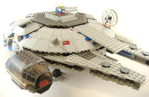 In 2004, LEGO released re-designed sets of all the classic Star Wars ships,
