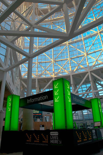 Los Angeles Convention Center Information Booth