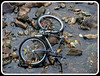 Abandoned (clickclique) Tags: abandoned water bicycle river rocks happyending flickrsmileys imagesofharmony