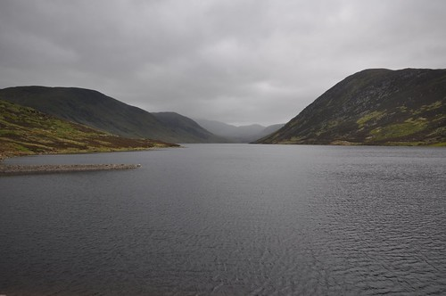 Loch Turret from the dam