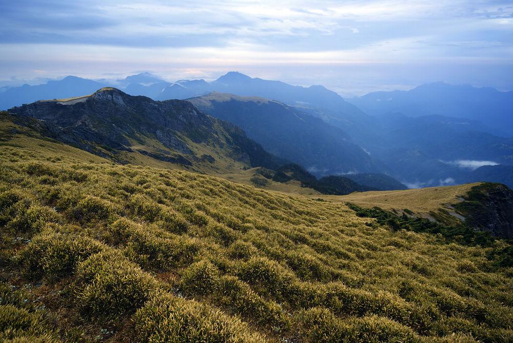 奇萊Day3--41 北峰東面的草原