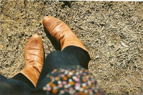 mah boots!