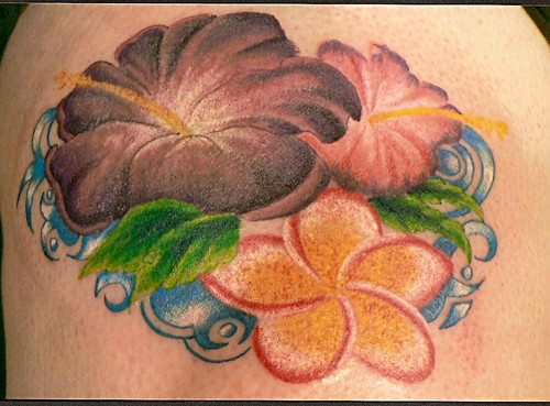 posted for Bulldog Tattoo tropical flowers. Originally posted 20 months ago.