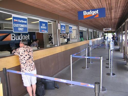 rental car counter, honolulu international airport