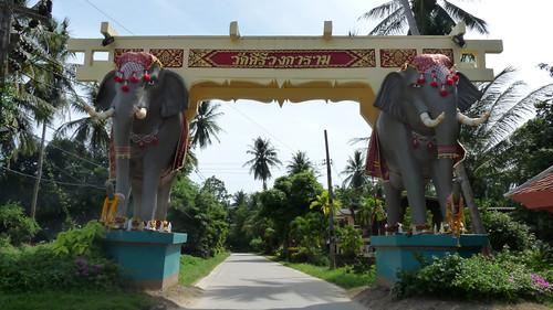 Koh Samui Elephant gate @ Taling ngam タリンガム0001