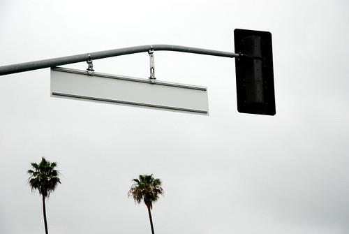 LA Street Sign