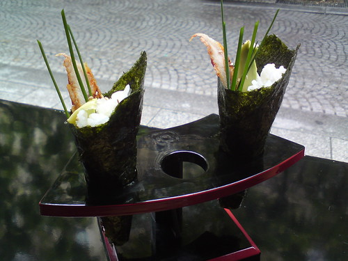 Rice & Fish: Eel temaki