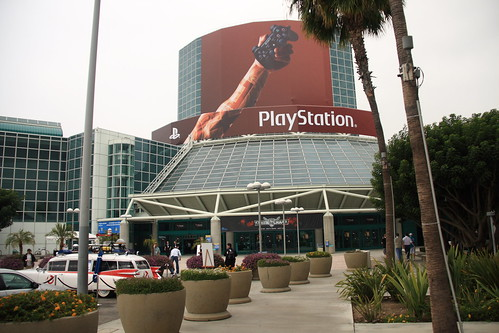 The entrance to E3 on day 1.