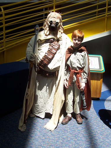Star Wars weekend at the Indianapolis Children's Museum