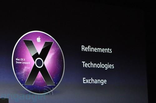 WWDC 2009 Mac OS X Snow Leopard