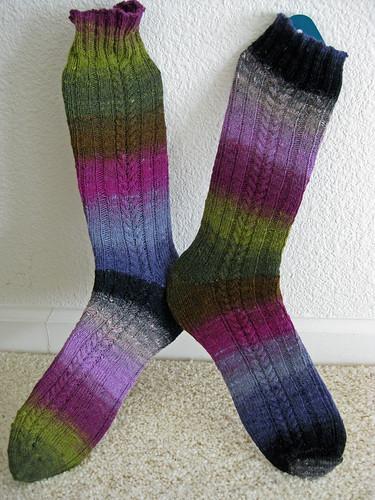 Jenny Wren Socks- FO