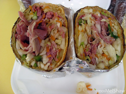 Sheena's Cornbeef Soul Roll