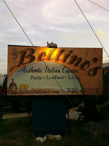 Absolutely amazing Italian restaurant in Rockport, TX - Bellino's