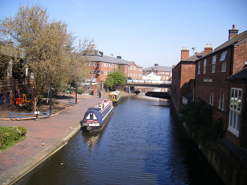 Birmingham and Fazeley Canal (near the The NIA Birmingham)