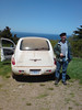 dan and PT Cruiser (dusty)
