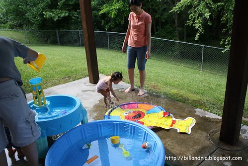backyard toddler water park
