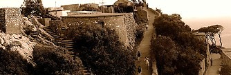 Fort at Gibraltar by you.