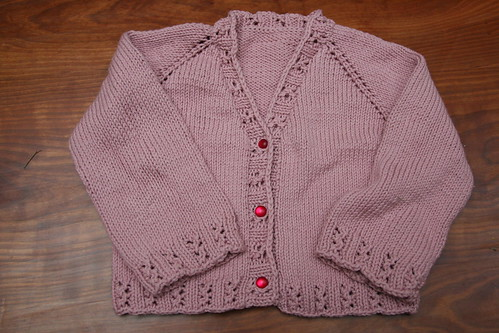 Devil's pink cardigan