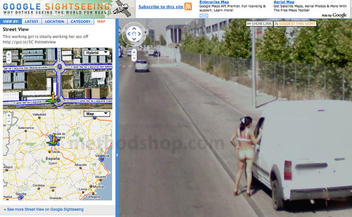 Maps street view naked