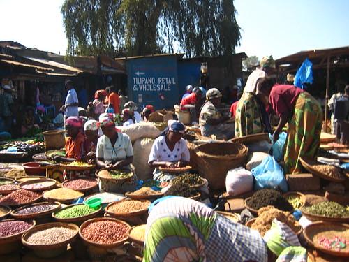 Lilongwe Old Town market