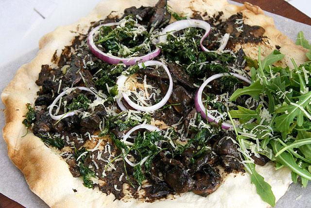 Wild Truffle Mushroom Skinny Pizza