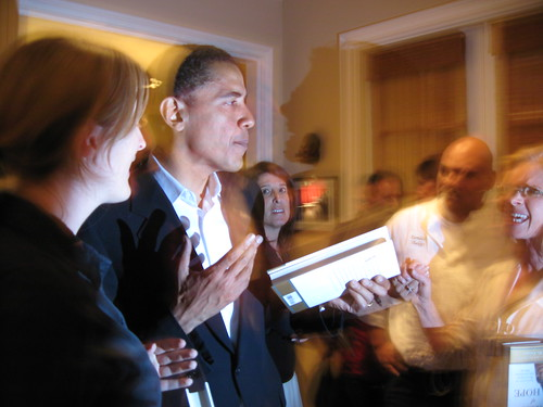 Obama in Los Angeles, 2006
