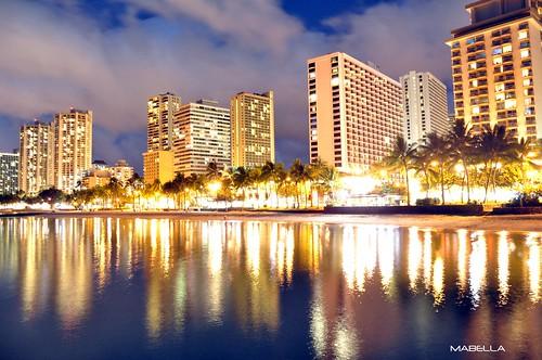 Waikiki Beach Shimmer