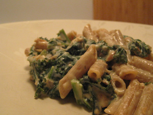 Kale in Cream Sauce