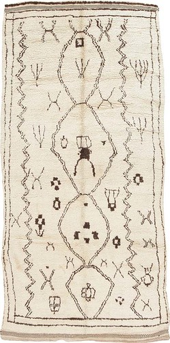 Antique Moroccan Rug #44586 by Nazmiyal Collection