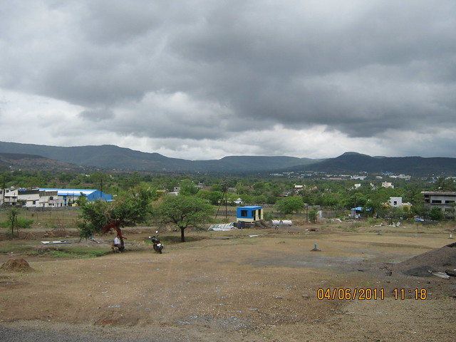 Site of Vanalika Pirangut - upcoming township of 1 BHK & 2 BHK Flats on Paud Road - 8 kms from Chandani Chowk Kothrud Pune